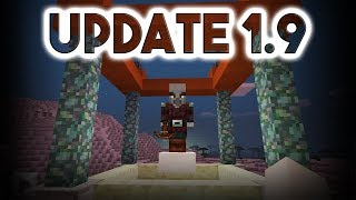 NEW MCPE UPDATE 1.9.0.0!!! PILLAGERS?!! + MORE! (Changelog of Minecraft BE 1.9)
