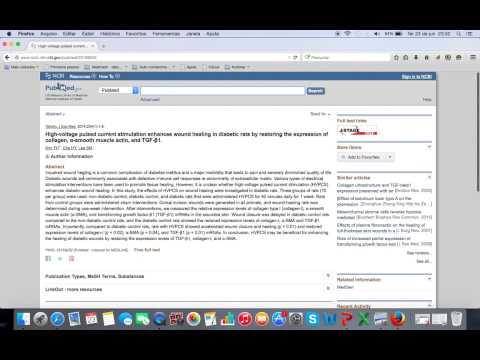 Busca artigos científicos - Base de dados Pubmed