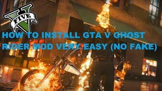 Download How To Install Gta 5 Ghost Rider Mod With Open Iv