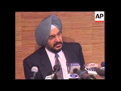 INDIA: INDIA/PAKISTAN DISPUTED KASHMIR TERRITORY LATEST
