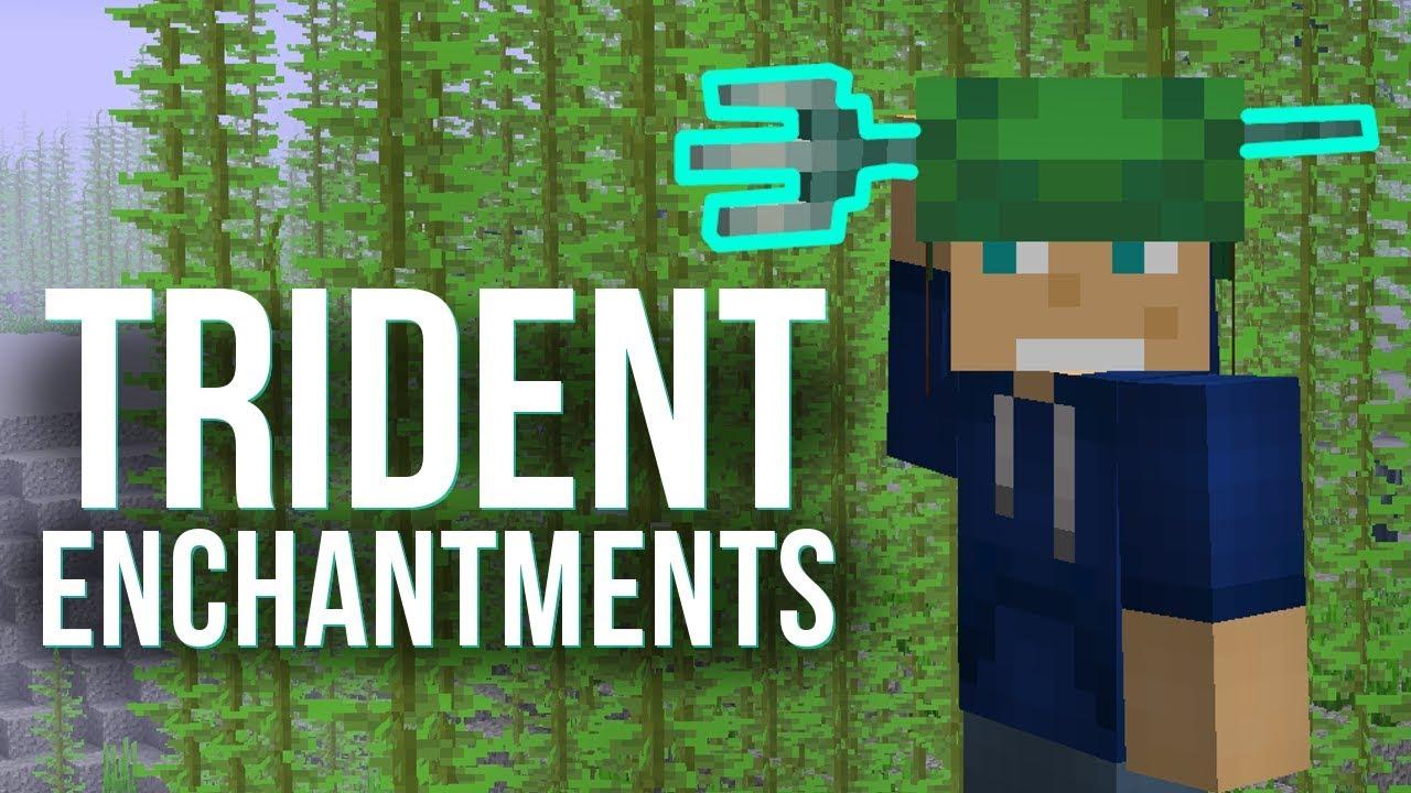 Trident Enchantments Explained - Minecraft 8.83