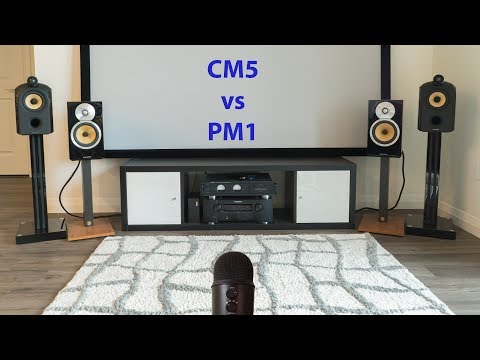 Bowers & Wilkins PM1 vs CM5 Sound Comparison