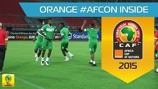 Burkina Faso - training session (16/01) - Orange Africa Cup of Nations, EQUATORIAL GUINEA 2015