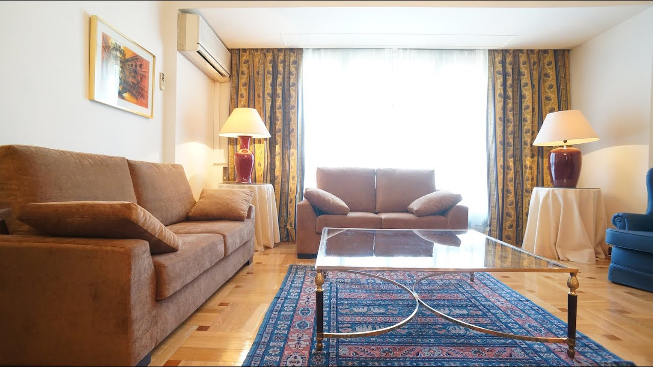 N 41 00436 alquiler piso de luego amueblado 2 dormitorios dobles en madrid barrio salamanca - Alquiler piso barrio salamanca ...