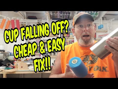 Epoxy Tumbler Falling Off Your Handle Cheap & Easy Fix