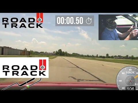 2015 Alfa Romeo 4C Uncut VBOX HD Footage | Road & Track