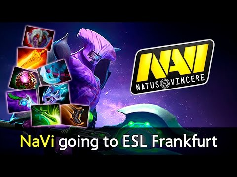 NaVi going to ESL Frankfurt — carry Void with Radiance Dota 2