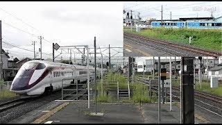 JR北山形駅の朝ラッシュ列車のみまとめ【奥羽本線・仙山線・左沢線】 Kita-Yamagata Station
