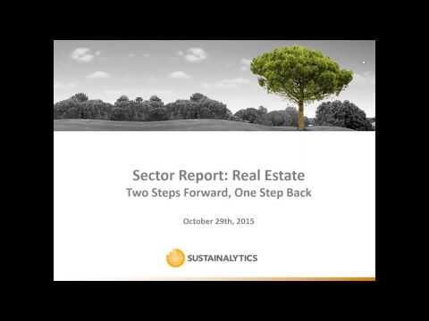 Real Estate Sector Webinar (29 October 2015)