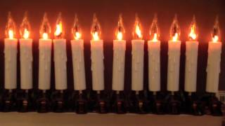 Guirlande électrique bougies FLAMME