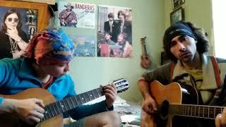 Кубинский танец на гитаре. Дуэт