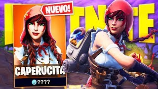 "SKIN OF ""RED CAPERUCITA"" dans SEASON 6 de FORTNITE: Battle Royale!"