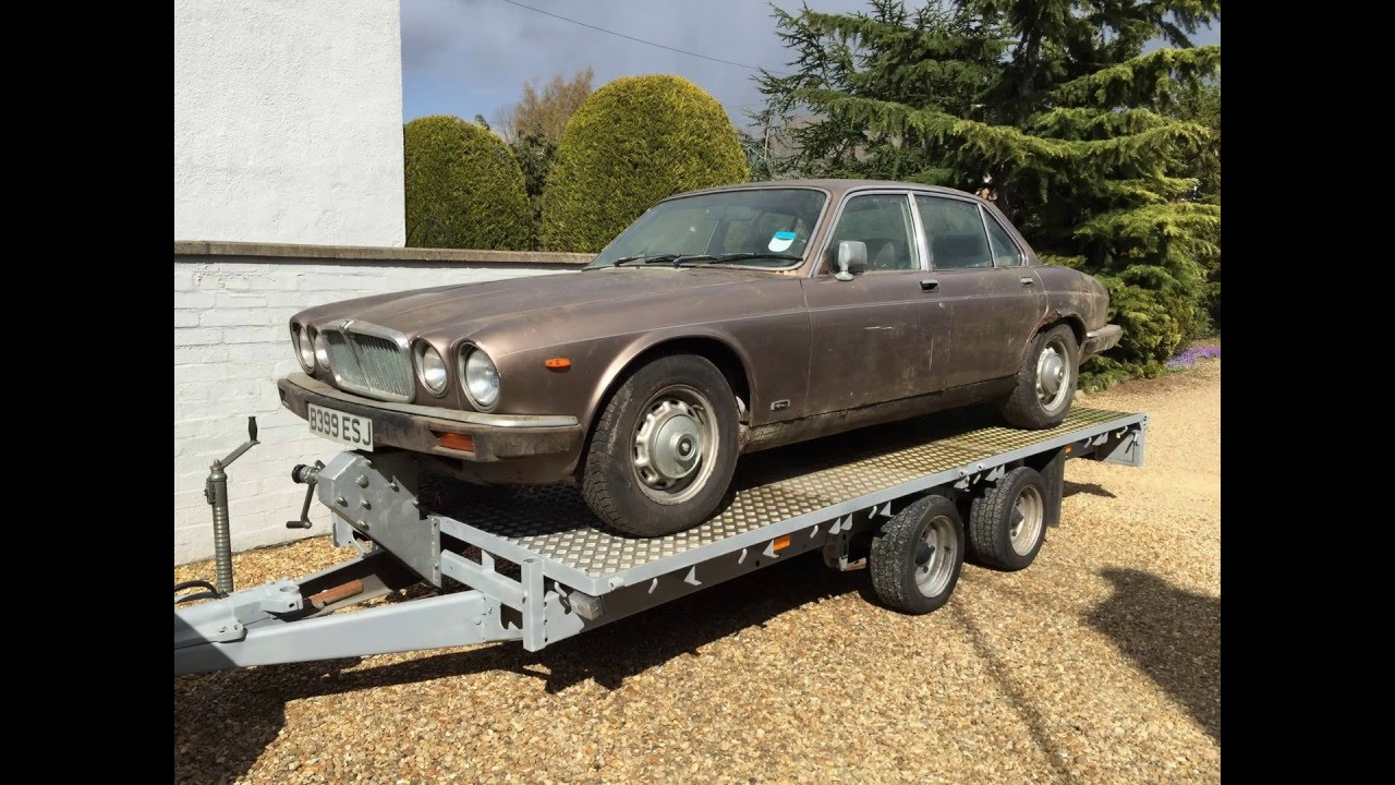 1985 jaguar xj6 series 3 4 2 barn find project 1 youtube. Black Bedroom Furniture Sets. Home Design Ideas