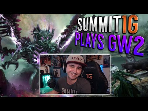 Summit PLAYS GUILD WARS 2! Summit Learns Gets Taught GW2 & Chooses Character! Summit1G Highlights!