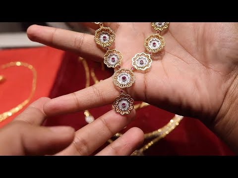 22 Karat Gold Jewelry huge Exclusive Design at Chadni chawk৷৷Light Weight Necklace For Girls৷৷