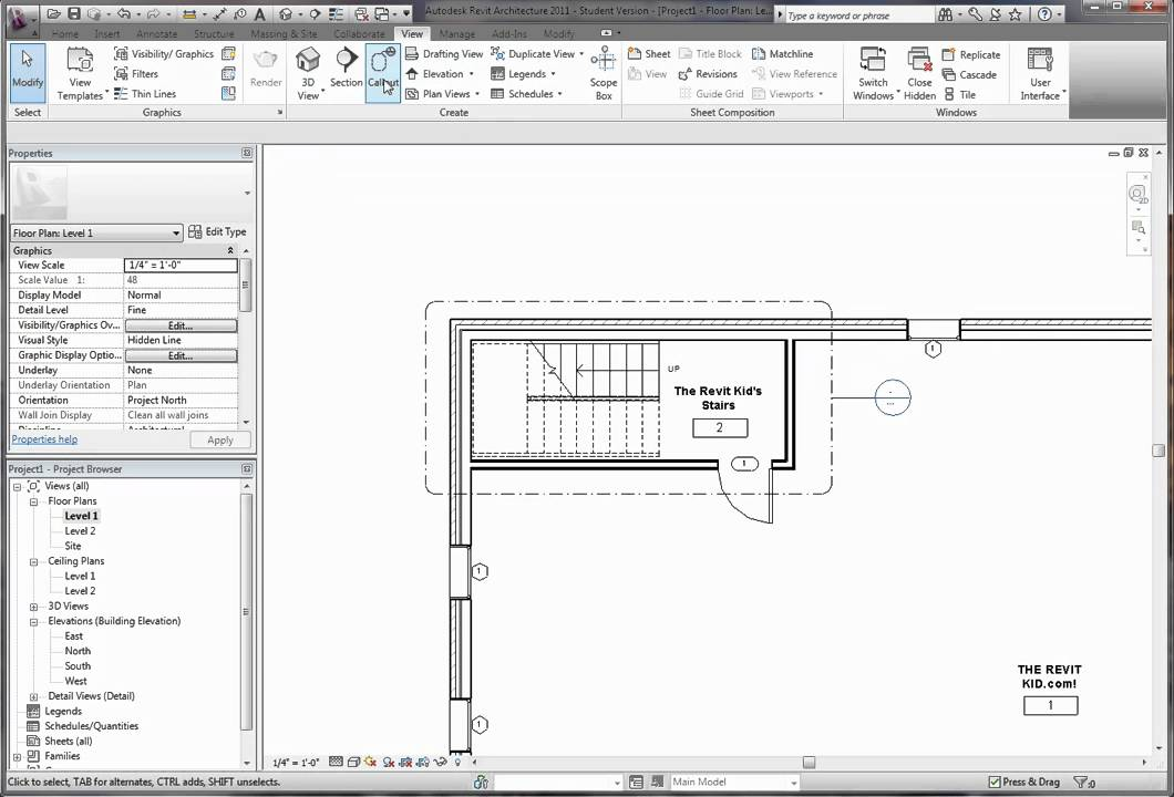 The Revit Kid   Revit Tutorial   Stairs Above Disappear
