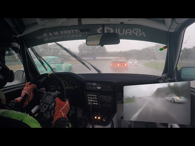 American Festival Circuit Zolder - Belcar Youngtimer Cup race 1 onboard BMW E30 M3