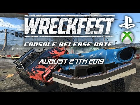 wreckfest release dates ps4 xbox pc youtube. Black Bedroom Furniture Sets. Home Design Ideas