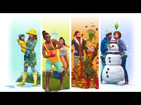 The Sims 4 Seasons: Official Reveal Trailer Reaction!  