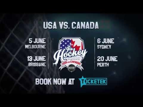 2015 Ice Hockey Classic - USA Vs CANADA