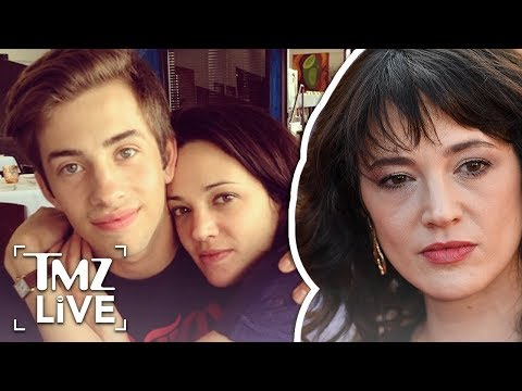 Asia Argento: 17-Year-Od Assaulted Me! | TMZ Live