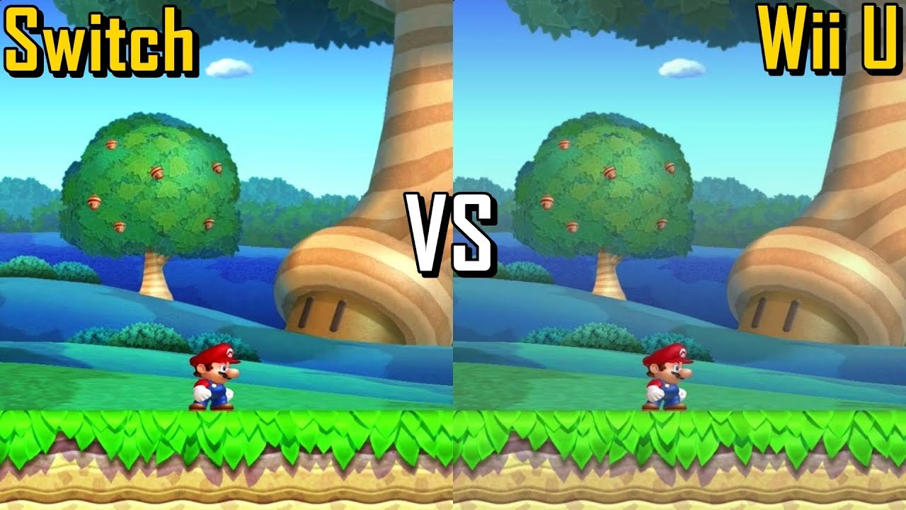 New Super Mario Bros U Deluxe Comparison