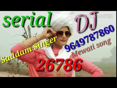 SR 26786 Saddam Singer