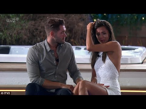 Jonny Mitchell declares his dedication to a very emotional Tyla Carr as he leaves Love Island