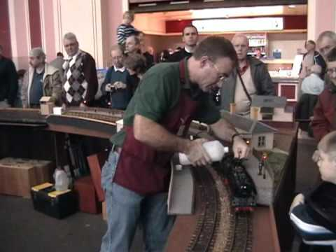 Live Steam at London Model Engineering Exhibition