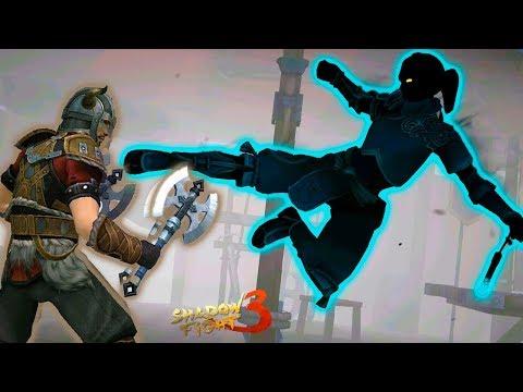 ОТКРЫВАЕМ КЕЙСЫ в Shadow Fight 3 и ТЯЖЕЛЫЙ БОСС ГИЗМО прохождение игры бой с тенью детский летсплей