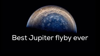 Best flyby of JUPITER EVER | NASA Juno