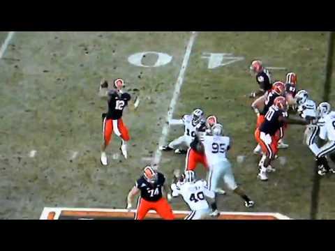 Syracuse RB #29 Antwon Bailey big block