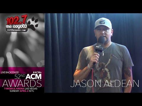 Jason Aldean Reveals How To Survive ACM Weekend In Las Vegas