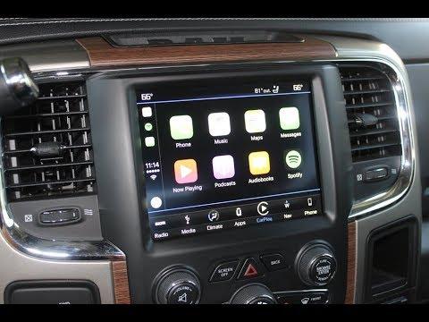 World's First! 2013-2017 Ram Truck Apple CarPlay / Android Auto Factory UAQ Upgrade! Easy Retrofit!
