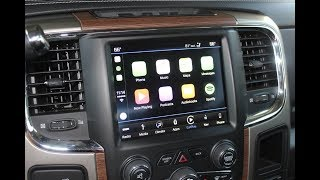 World's First! 2013-2017 Ram Truck Apple CarPlay / Android Auto Factory UAQ Upgrade! Easy Retrofit!