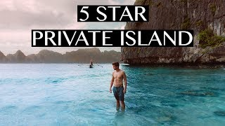 SLEEPING ON A PRIVATE ISLAND IN EL NIDO (MOST BEAUTIFUL RESORT)