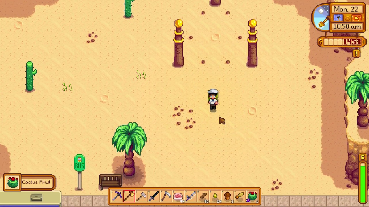 stardew valley how to get to the desert
