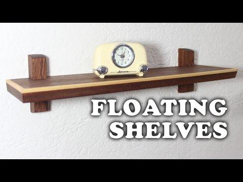 Making Floating Shelves