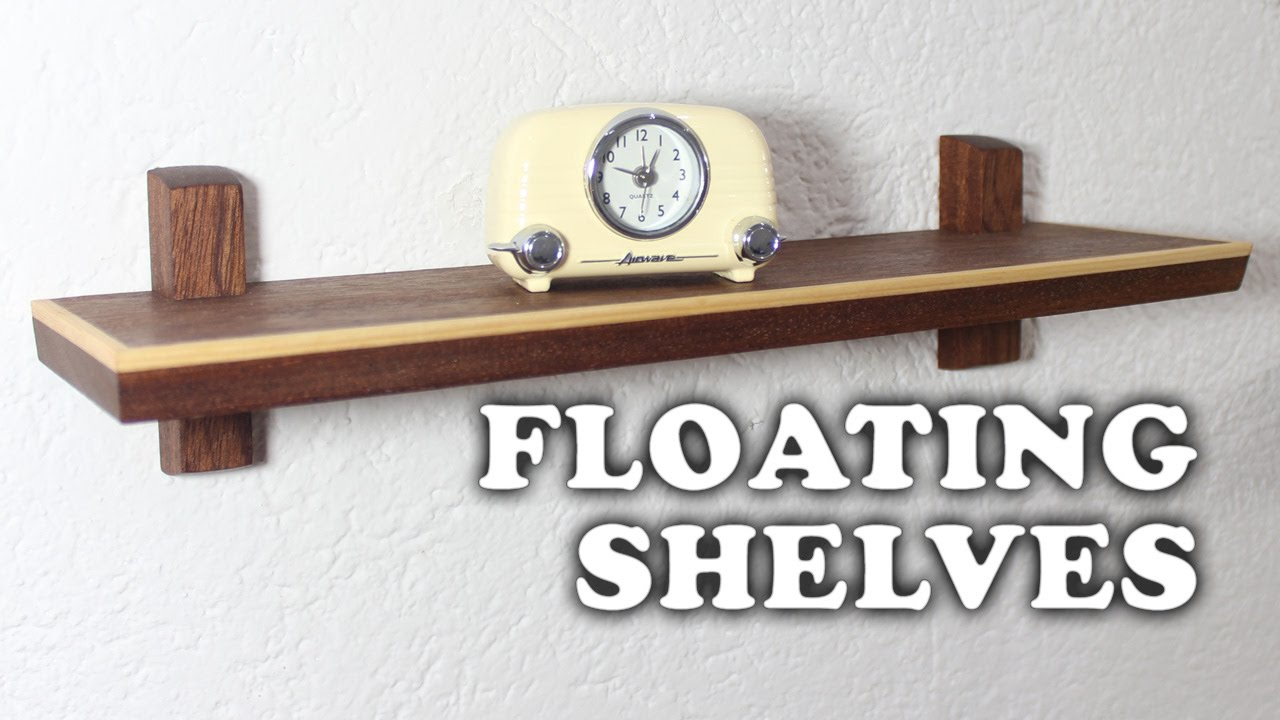 Floating Shelves making floating shelves - youtube
