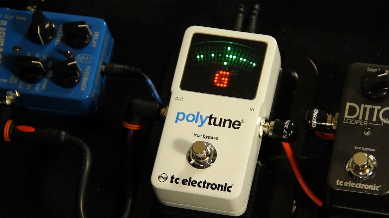 tc electronic polytune ii tuner demo with russel gray youtube. Black Bedroom Furniture Sets. Home Design Ideas