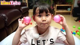 타요 뽀로로 키즈 공풀장 색깔노래 Learn colors with kids and balls, Songs Finger Family and Nursery Rhymes for Kids