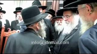 Rav Shteinman Visits Belzer Rebbe Elul 5772