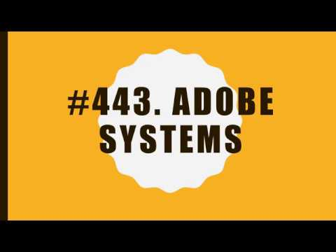 #443 Adobe Systems|10 Facts|Fortune 500|Top companies in United States