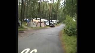 Fahrt über Campingplatz Ückeritz 13.08.2011