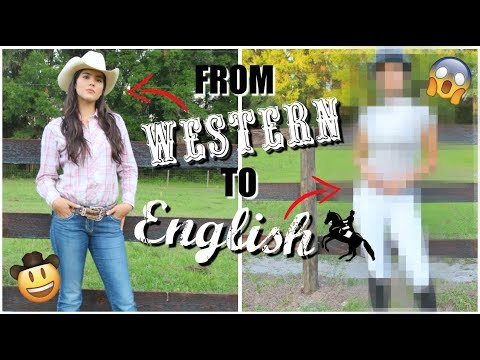 WESTERN COWGIRL Gets An ENGLISH MAKEOVER!!!