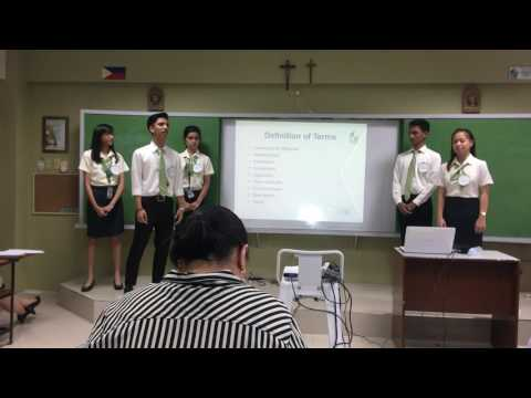 Final Defense of Thesis