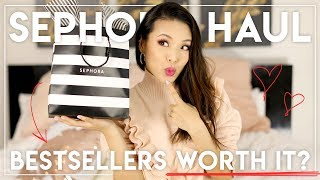 SEPHORA BESTSELLERS: Worth it?! Haul & First Impressions!