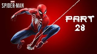 Marvel's Spider-Man PS4 Gameplay Walkthrough Part 28 - Iron Spider Suit (No Commentary)
