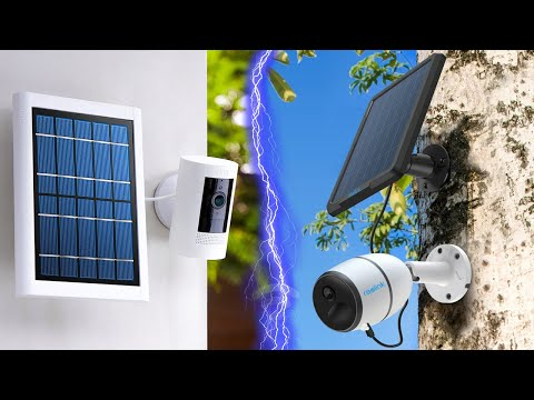 8 Best Solar Powered Security Cameras for 2021