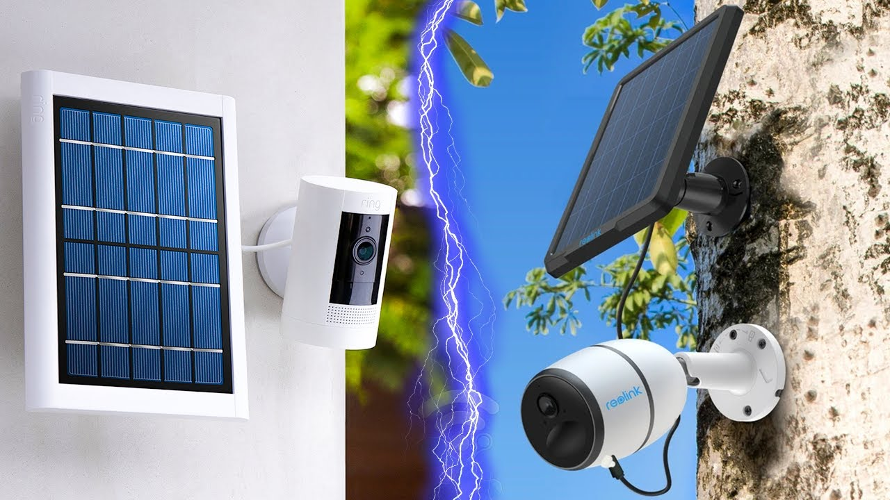 8 Best Solar Powered Security Cameras for 2021 - YouTube